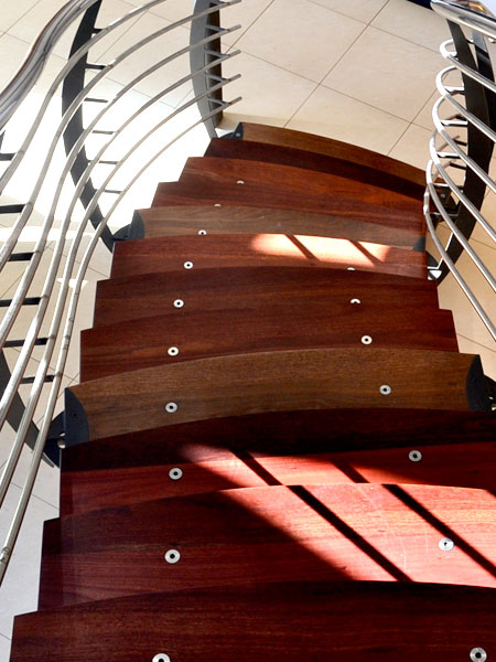 modern staircase designs floating stairs wooden steps steel